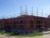 Woning in aanbouw